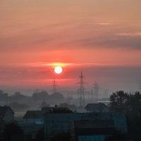 Утро туманное :: Екатерина Тимашева