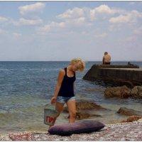Черпая вдохновение из Чёрного моря... :: Кай-8 (Ярослав) Забелин