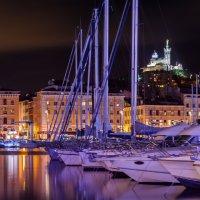 Vieux Port la nuit :: Александр Димитров