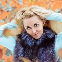 Зима с осенью встретились! :: Елена Семёнова