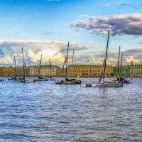 лодки на Неве :: Valerii Ivanov
