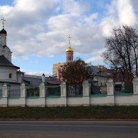 Церковь Благовещения Пресвятой Богородицы в Павловской Слободе :: Евгений Мергалиев