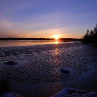 Ледяной закат :: Ольга