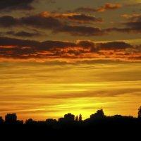Закат после ливня... :: Барбара