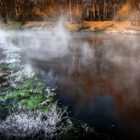 Два берега октябрьского рассвета... :: Андрей Войцехов