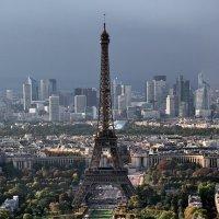 Башня с небоскрёба Монпарнас, Париж :: Виталий Авакян
