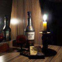 коньяк при свече :: Михаил Святов