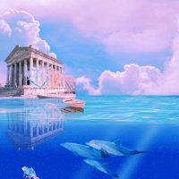 Храм Гарни 1 век до н.э. :: Наталья-13 Аветова