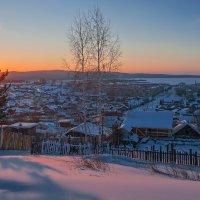 Красный рассвет :: vladimir Bormotov