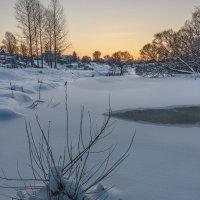 Морозное утро :: Николай Андреев