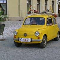 Ретро автомобиль Фиат Fiat 600 D :: Евгений Кривошеев