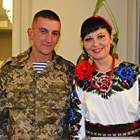 Солдат з зони АТО у відпусці :: Степан Карачко