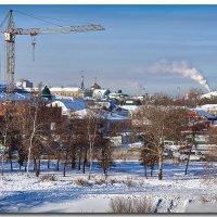 В город пришли крещенские морозы :: Степан Бабкин