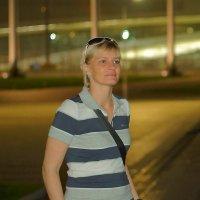 """На """"Поющих фонтанах"""" в Олимпийском парке :: Дмитрий Редьков"""