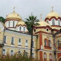 Ново-Афонский Симоно-Кананитский монастырь :: Елена Павлова (Смолова)