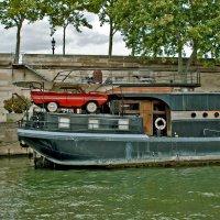 Париж, Сена, баржи... :: Ольга Маркова