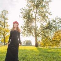 Девушка осень :: Алекcандр Комлев