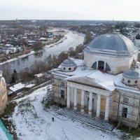 Вид на Борисоглебский монастырь. :: Лилия Гудкова