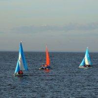 А там, за горизонтом...море :: Владимир Гилясев
