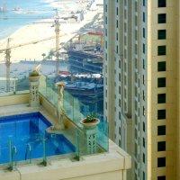 Дубай.Бассейн,34 этаж. :: Ирина