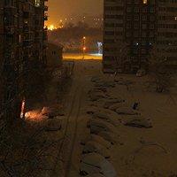 Первый снег. :: Сергей Щелкунов