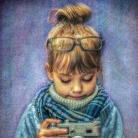 Мой начинающий фотограф... :: Kristi Foto