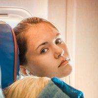 в самолете-1 :: Татьяна Исаева-Каштанова