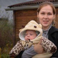 Лера с дочкой :: Зинаида Федорова