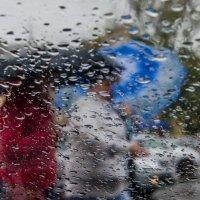 Осенний дождь рисует акварелью 1 :: Галина Юдина