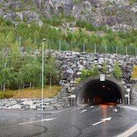 Туннель в Норвегии. :: Ольга