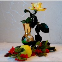Роза в венецианской вазочке... :: Тамара (st.tamara)