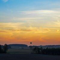 Полёт на закате :: Анастасия Радыно