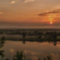 Туман на реке :: Татьяна Белоусова