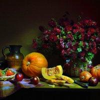Осенний пряный ветер по утру... :: Валентина Колова