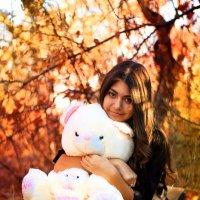 На полянке с медведем :) :: Анжелика Засядько