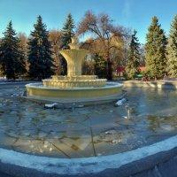 замерзший фонтан :: юрий иванов