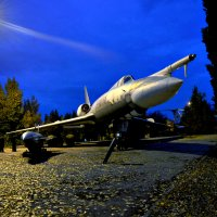 Самолет в парке победы в городе Саратов :: Ирина Стугина