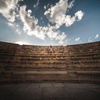 Восстановленный и действующий амфитеатр. Кипр. :: Евгений Кот