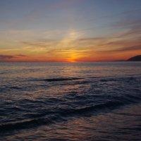 Закат на море. :: Ирина Нафаня