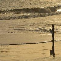 Мальчик и океан :: Дмитрий Бакулин