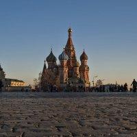 Вид на Храм Василия Блаженного. :: Владимир Питерский
