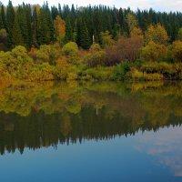От радости сердце забьется,увидев реки синеву и отражение :: Нина северянка