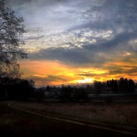 Причуды небес последнего рассвета октября... :: Андрей Войцехов