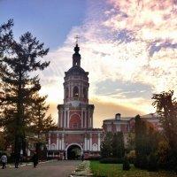 Надвратная колокольня Донского монастыря :: Ирина Бирюкова