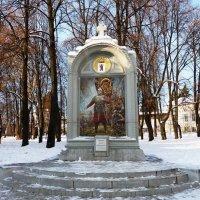 Памятник-стела «Клятва князя Пожарского» в Ярославле :: Galina Leskova