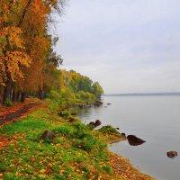 Осень на о.Шарташ :: Геннадий Ячменев