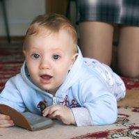 Детская непосредственнось... :: Елена Васильева