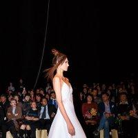 Показ мод в Гостином дворе. Новая коллекция одежды модельера Елены Шипиловой (7) :: Николай Ефремов