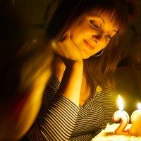 Вечер при свечах :: Наталья Жеребецкая