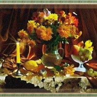 Дарите желтые цветы! Подарок для Валентины Коловой :: Лидия (naum.lidiya)